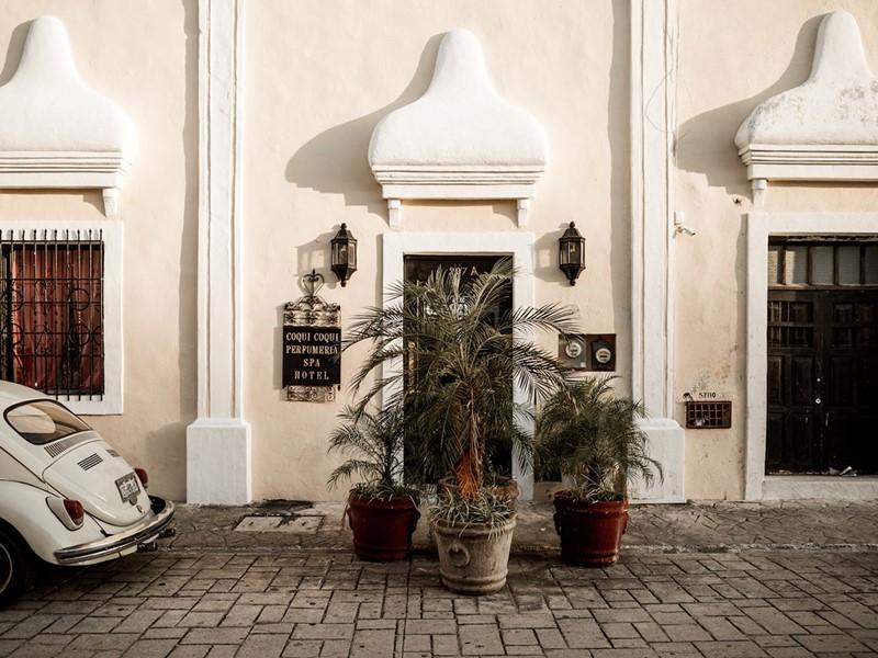 Le Coqui Coqui Valladolid, un hôtel surprenant