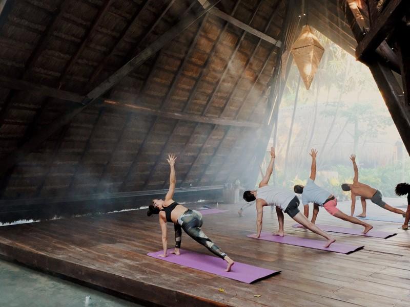Profitez de séance de Yoga au Nomade Tulum