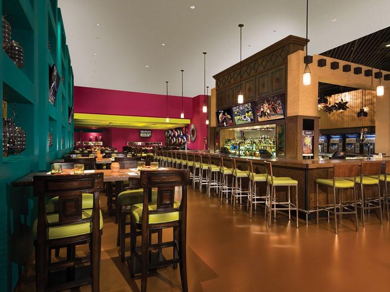 Le bar du restaurant HECHO de l'hôtel MGM Grand