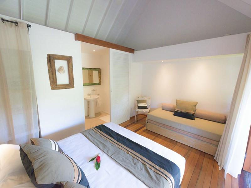 Bungalow Plage du Moorea Beach Lodge en Polynésie