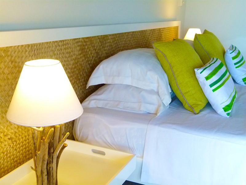 Les détails colorés des chambres du Mourouk Ebony