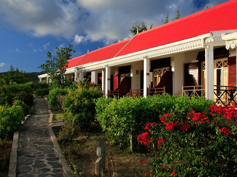 Le jardin de l'hôtel Mourouk Ebony