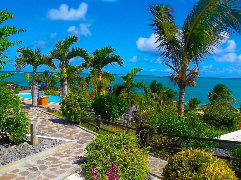 Balades verdoyantes dans les jardins de l'hôtel