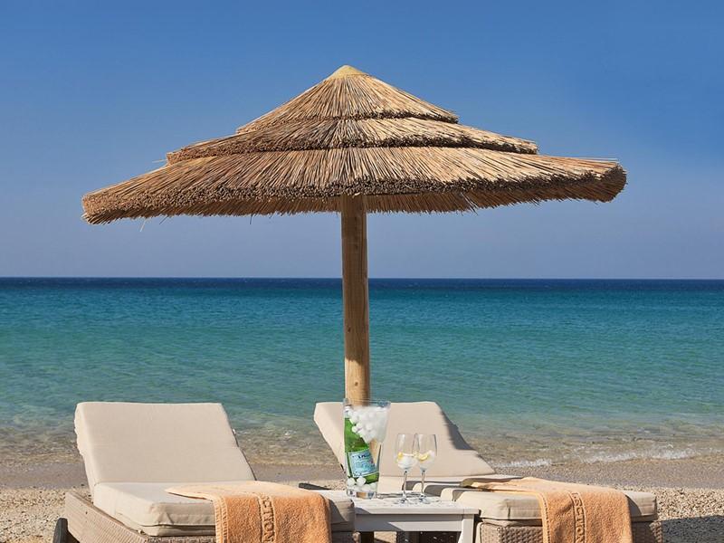 La belle plage d'Elia