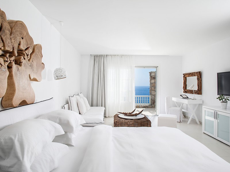 Chambre Exclusive Vue Mer Latérale