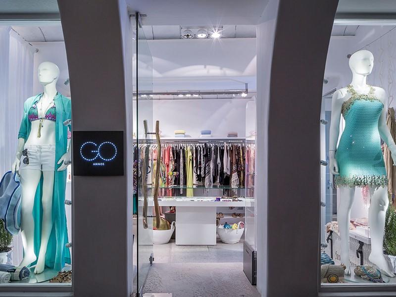 La boutique du Mykonos Ammos situé en Grèce