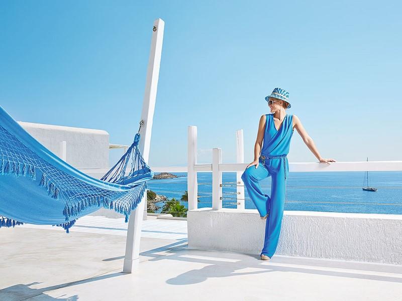 Profitez d'une vue à couper le souffle au Grecotel Mykonos Blu