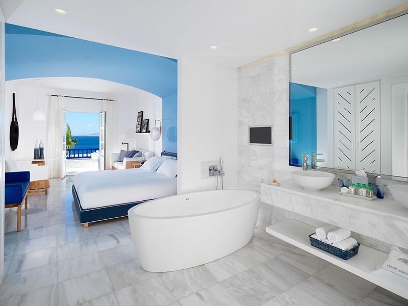 Suite Avec Piscine Privée de l'hôtel Mykonos Grand