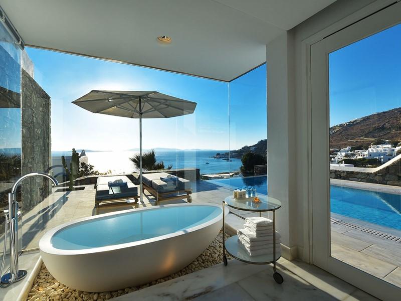 Grand Suite Avec Piscine Privée du Mykonos Grand