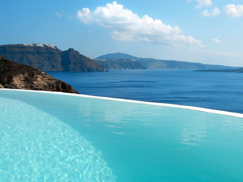 La piscine Infinity