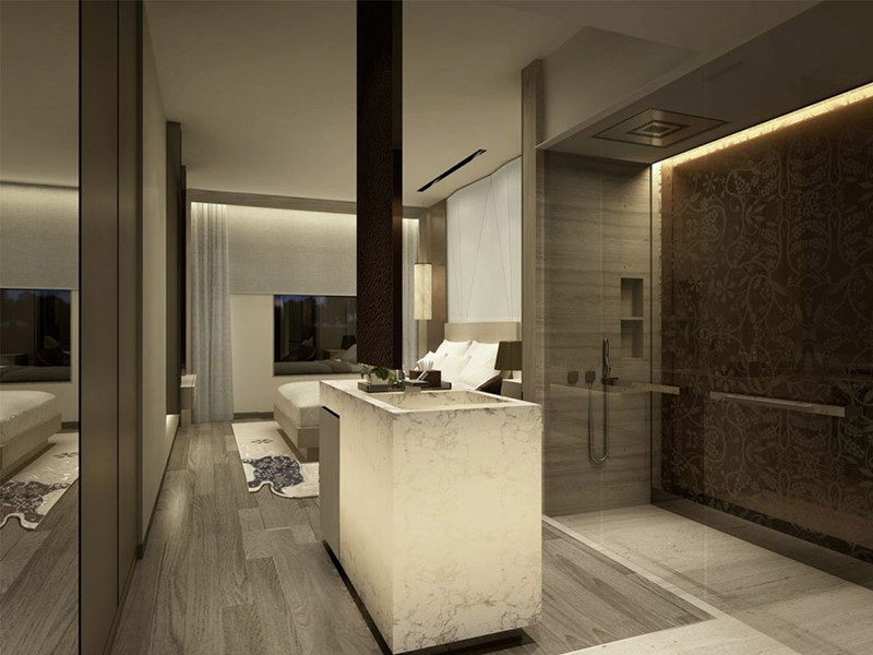 Habitat Room de l'hôtel Naumi en plein centre de Singapour