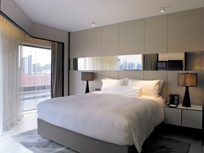 Oasis Room de l'hôtel Naumi en plein centre de Singapour