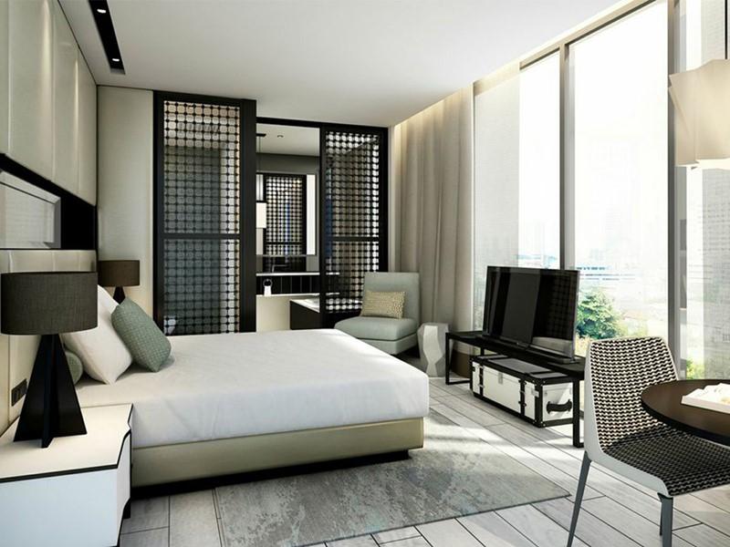 Gabrielle & Camellia Room de l'hôtel Naumi en plein centre de Singapour