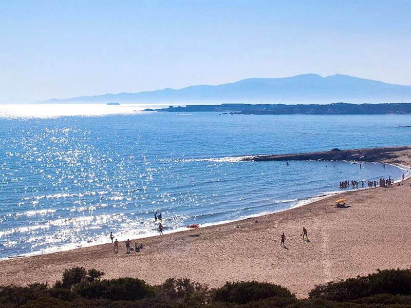 Superbe plage de Naxos à proximité des villas