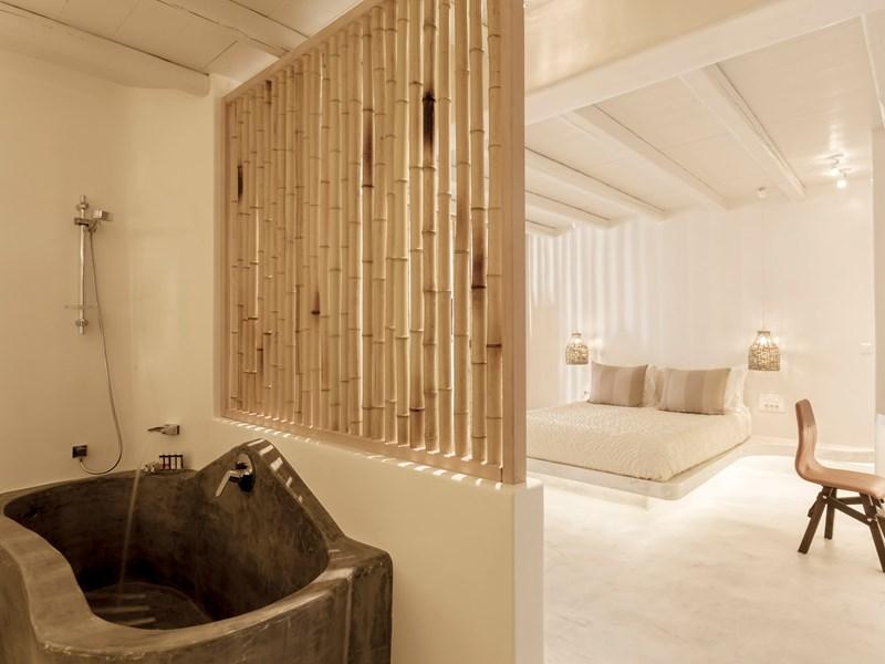 La salle de bain de la Premium Suite