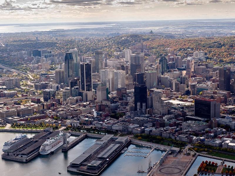 Une ville qui regorge de points de vues saisissants