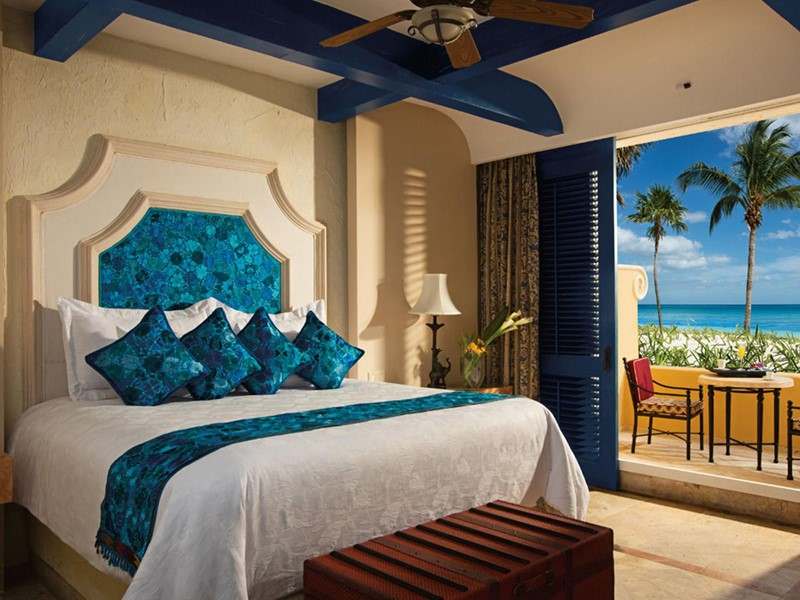Des chambres soigneusement décorées