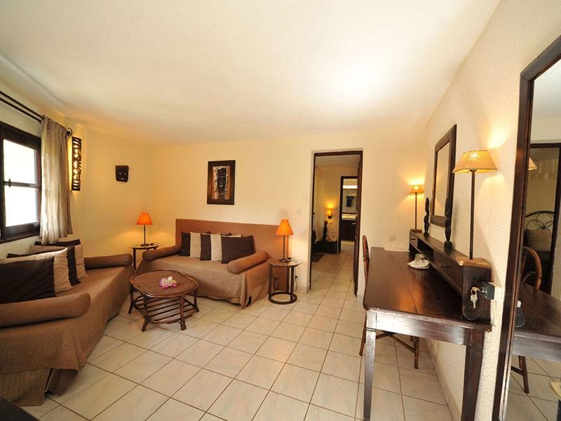 Le salon de la Suite de l'hôtel Neptune en Afrique