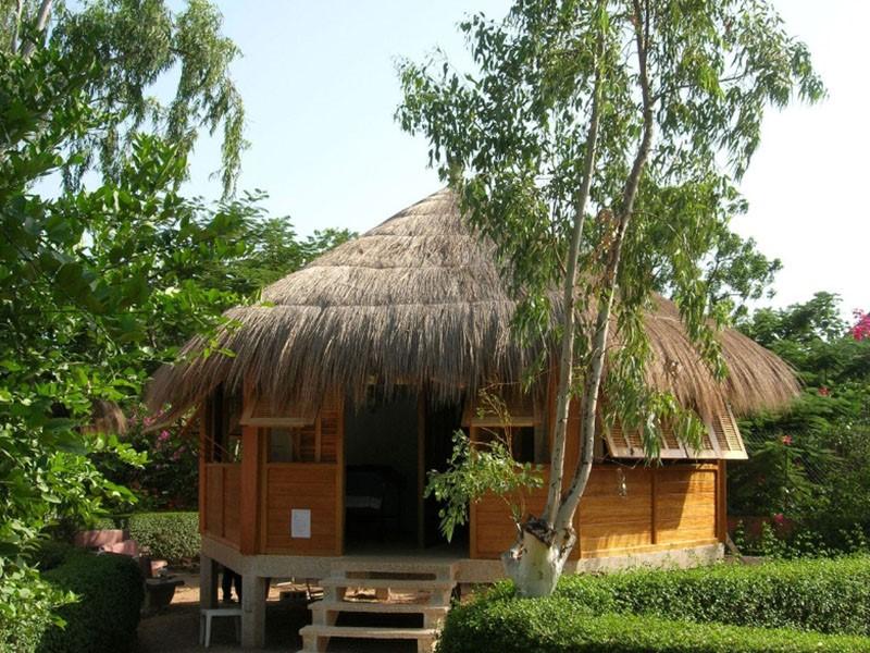 L'exterieur du spa de l'hôtel 5 étoiles Neptune au Senegal