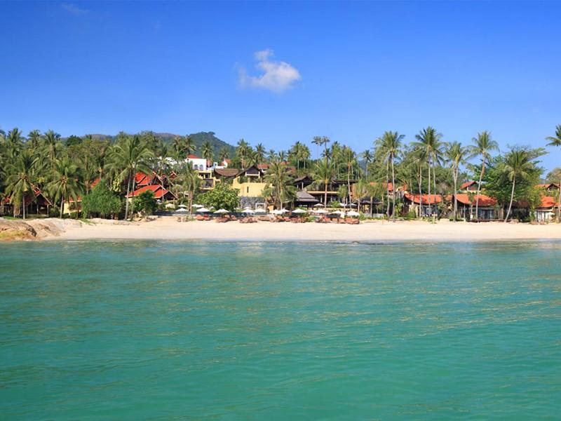 Vue de l'hôtel New Star Beach Resort situé à Koh Samui