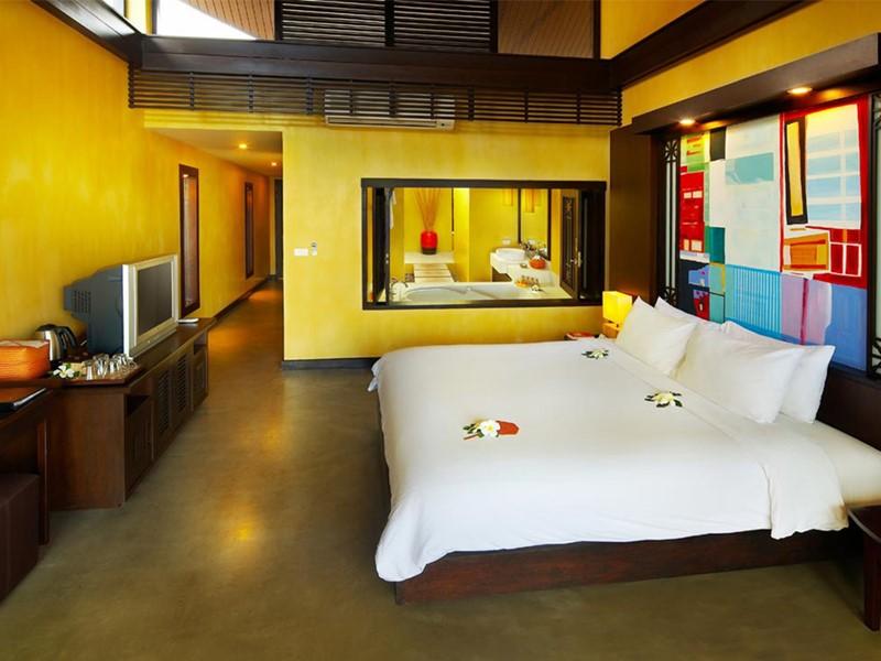Deluxe Balcony du New Star Beach Resort à Koh Samui