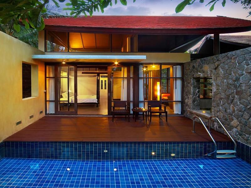 Ocean Pool Villa du New Star Beach Resort à Koh Samui