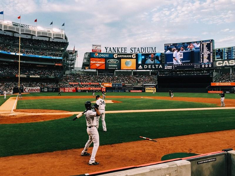 Le mythique Yankee Stadium dans le Bronx