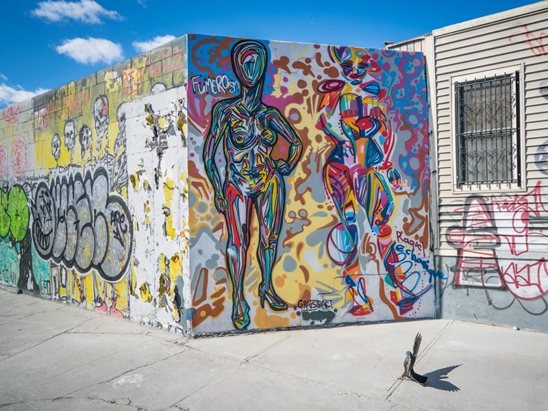 Le quartier le plus « arty » de New York : Bushwick, devenu le terrain de prédilection des meilleurs graffeurs du monde