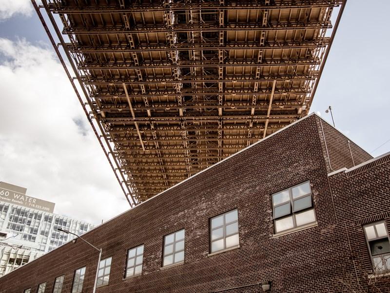 Le mythique Brooklyn Bridge, et son incroyable architecture