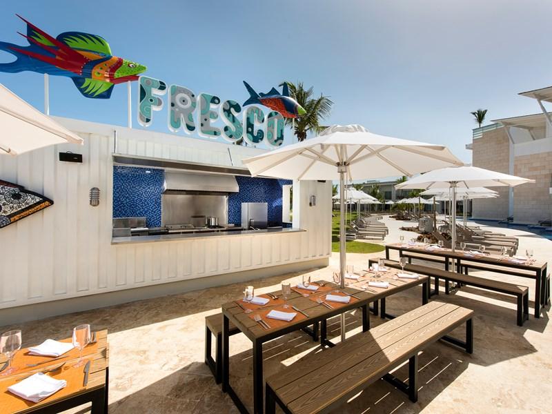 Le restaurant Fresco