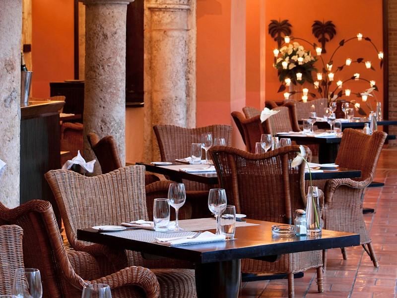 Restaurant du Nicolas de Ovando en Republique Dominicaine