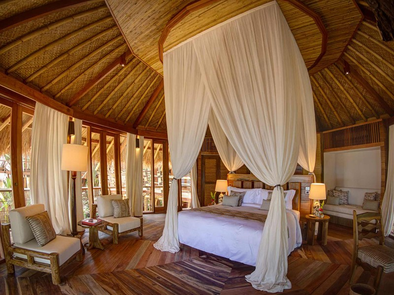 Mamole Treehouse de l'hôtel Nihi Sumba en Indonésie