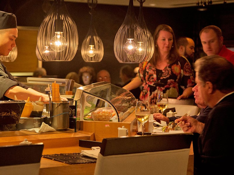 Goûtez à une cuisine d'influence japonaise au Nikko Hotel