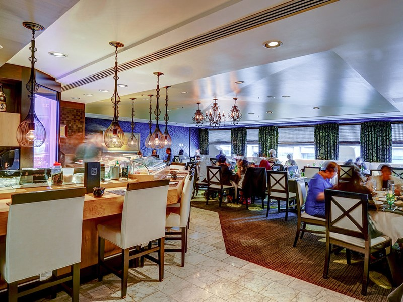 Le restaurant Anzu de l'hôtel Nikko à San Francisco