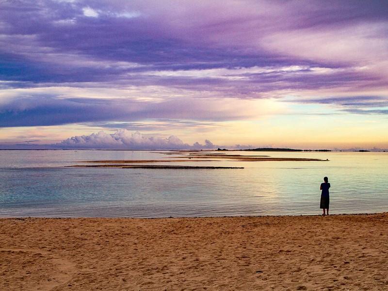 Contemplez un magnifique lever de soleil depuis le Ninamu