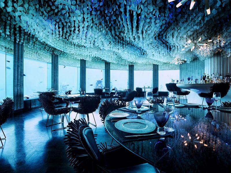 Restaurant sous l'eau Subsix