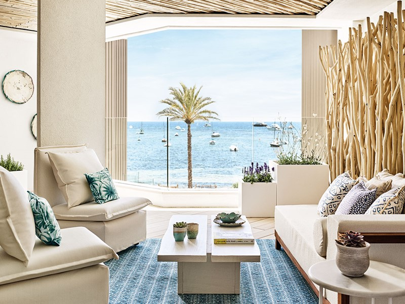 Deluxe Garden View Room du Nobu Hotel Ibiza Bay
