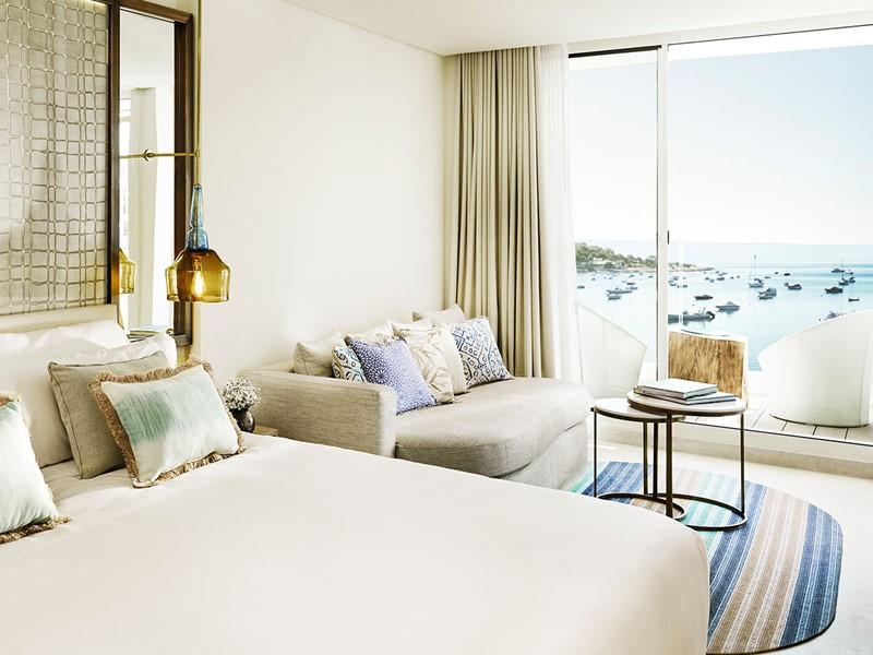 Deluxe Sea View Room du Nobu Hotel Ibiza Bay