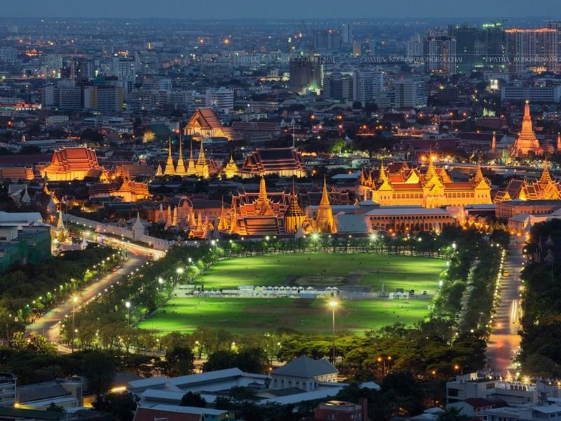 Admirez le Palais Royal à Sanam Luang