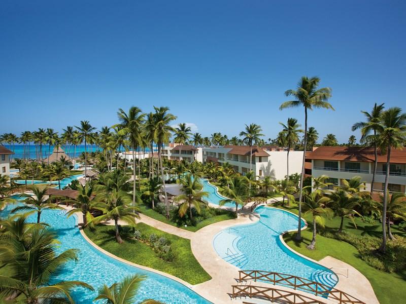 Le Dreams Royal Beach Punta Cana et ses sublimes extérieurs