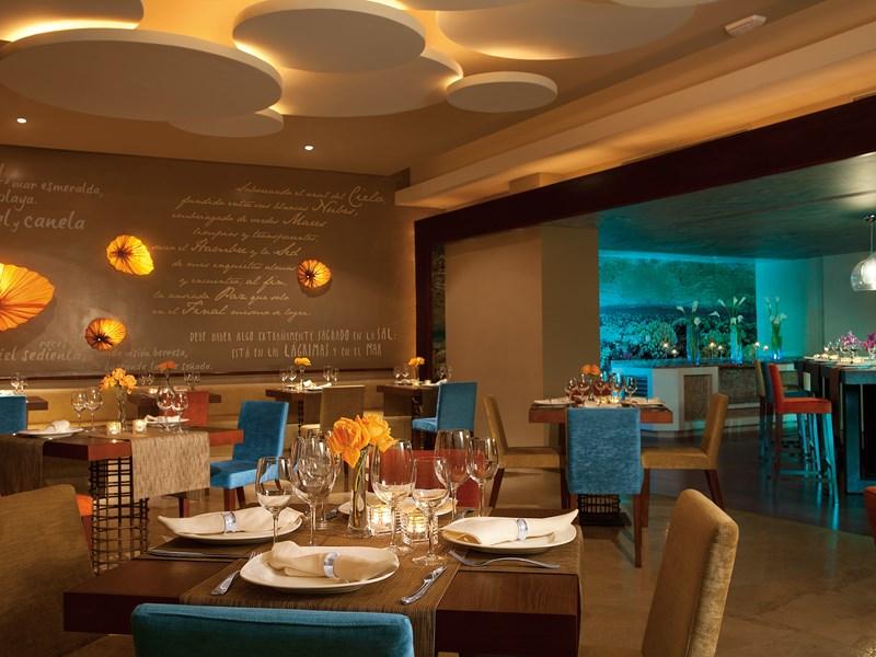 Le Restaurant Oceana, et ses produits de la mer