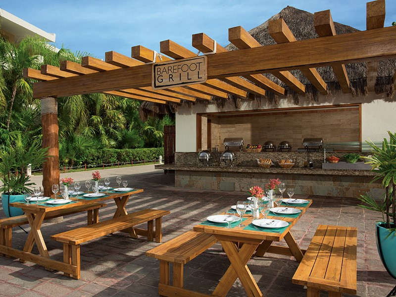 Le restaurant Barefoot Grill