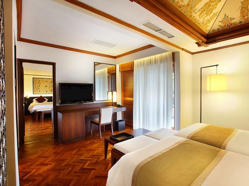 Deluxe for 4 du Nusa Dua Beach Hotel à Bali