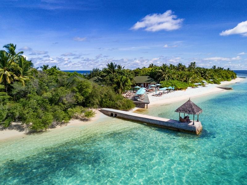 Un petit paradis au beau milieu de l'océan