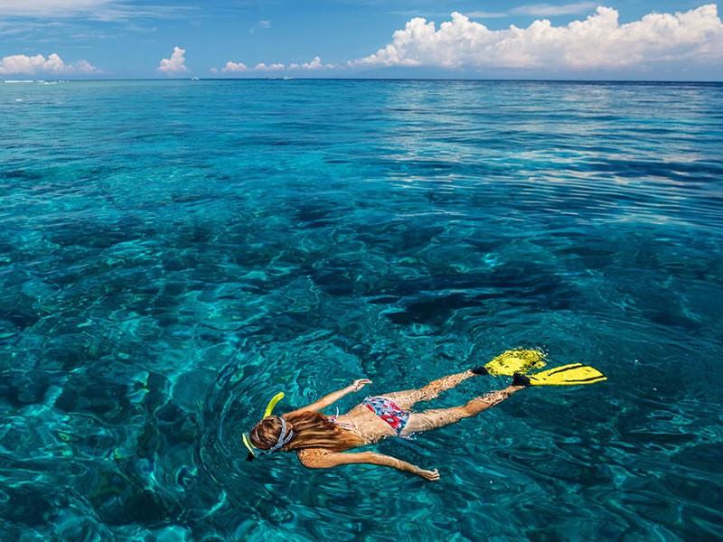 Snorkeling à l'OBLU By Atmosphere at Helengeli