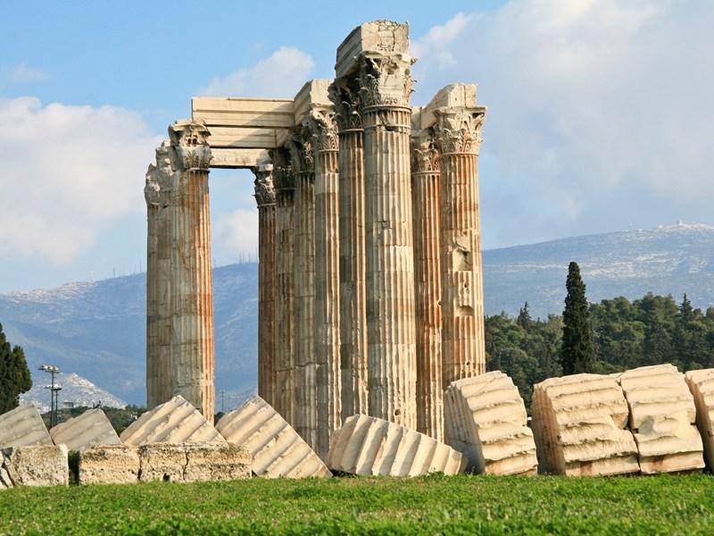 Temple de Zeus à Athène