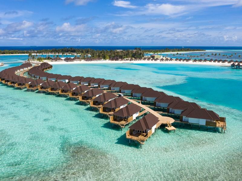 L'hôtel est composé de deux îles