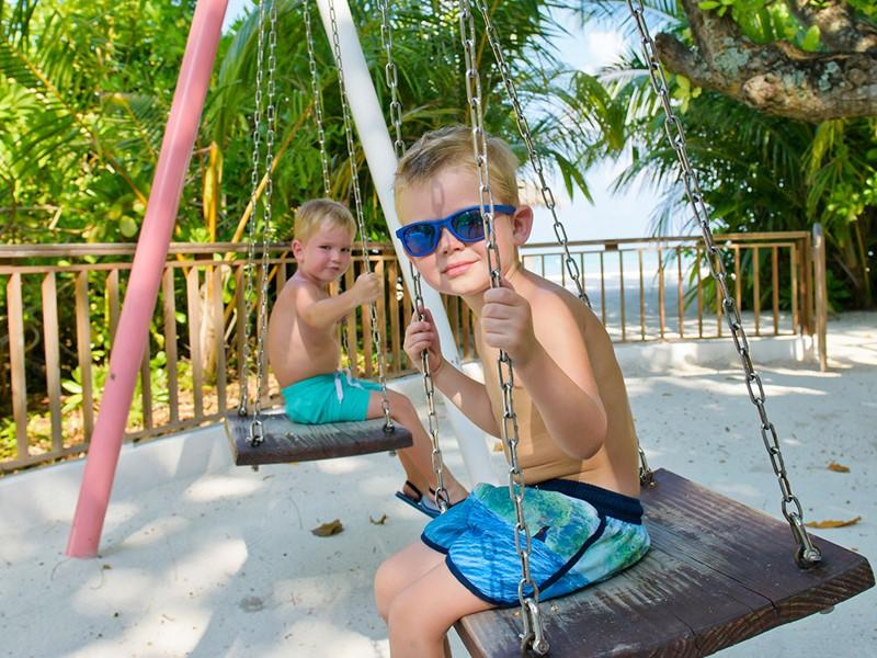 L'Olhuveli Beach & Spa Resort est un paradis pour les enfants