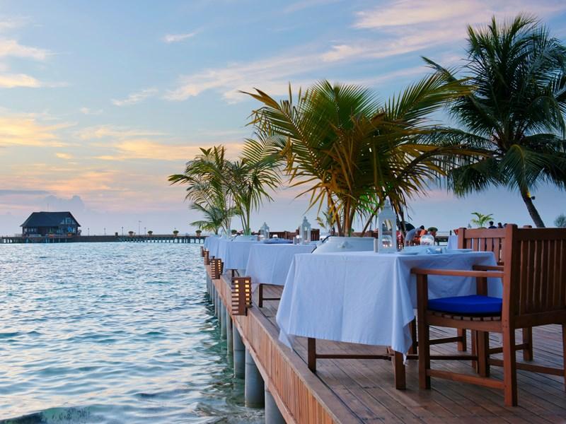 Le restaurant Lagoon de l'Olhuveli Beach & Spa Resort