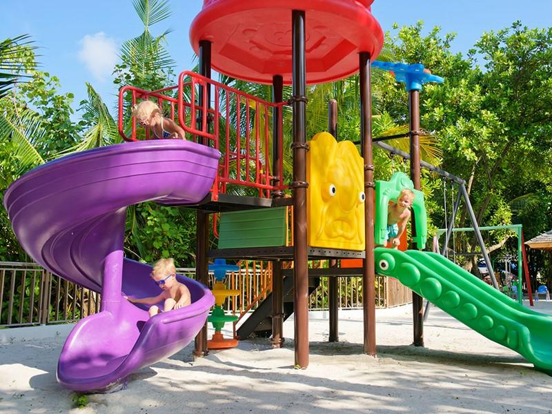 Le coin enfants de l'hôtel Olhuveli Beach & Spa Resort